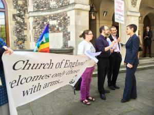 Church House vigil 140709 - 2