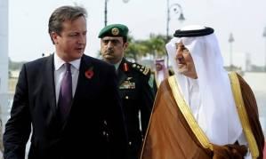 Cameron and Saudis